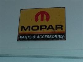 MOPAR Parts & Accessories Sign