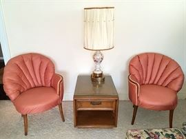 Hollywood Regency style chairs
