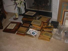 Dozens of nice old frames
