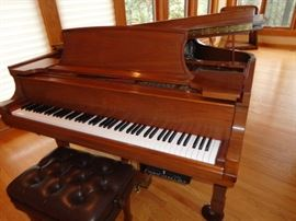 Steinway  & Sons Piano Model B, Signed, 1994, Serial # 528500 Walnut