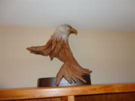 Transcendental Bald Eagle