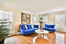 Gorgeous designer blue sofa set