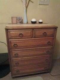 Original 1950's Western style chest of drawers