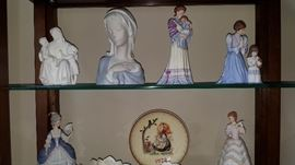 Lenox Figurines * Note plate the family kept