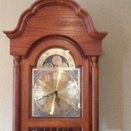 Ridgeway Grandfather Clock with Moon Phase