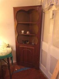 Nice vintage corner cabinet