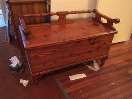 Great vintage cedar chest