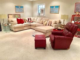 Comfort Design sectional sofa