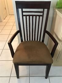 Chairs that come with dining room set 2 captain 4 straight