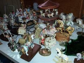 Carousel Horse Merry-Go-Around Figurines