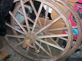 Metal Wagon Wheels