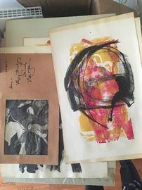 60s mid century art