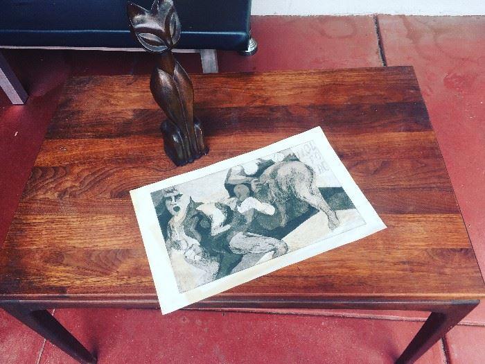 50s danish modern table