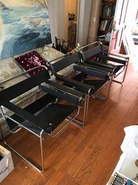 warren mcarthur style mid century modern chairs