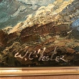 W. Chester, artist