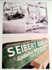 Original photos of truck with sideboards in front of dealership