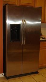 Stainless GE refrigerator