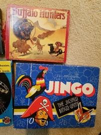 vintage games from the 1920's-1960's