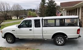 "2009 Ford Ranger XLT Supercab 4x2, XLT 126"" Wheelbase, 4.0L SOHC V6 Engine, 5-SPD Automatic O/D Trans, Exterior Oxford White C/C Interior Medium Dark Flint Cloth"