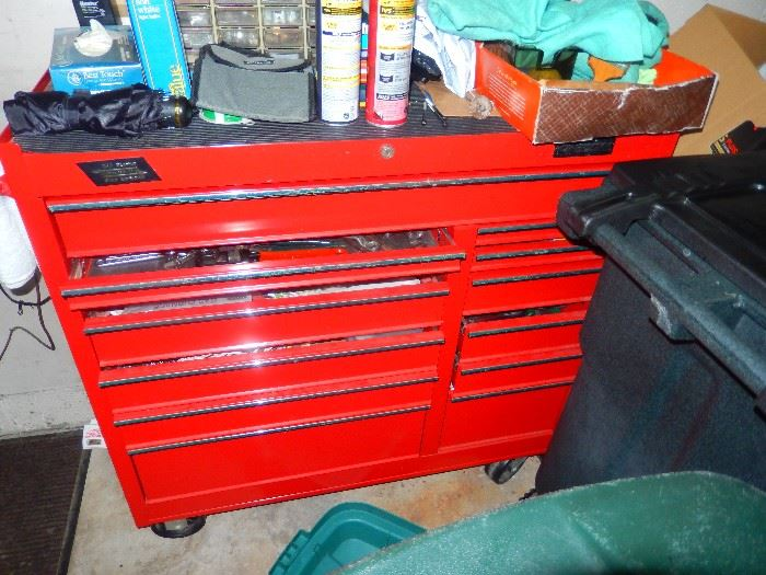 Tool Box Loaded in each drawer