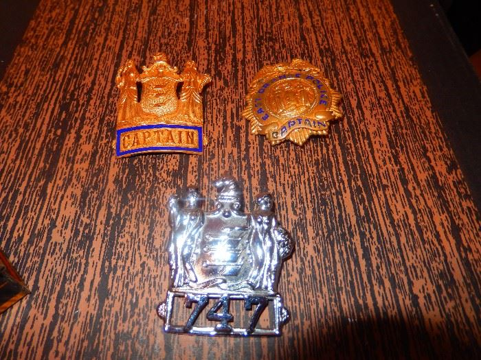 Old Police Badges      Two top SOLD to Family Member