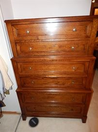 "Thomasville ""Visaya"" Indented Chest of Drawers"