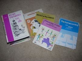 Music Sheets and Books, Lessons