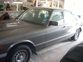 1984 Mercedes, Sunroof,  Garaged