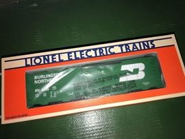 Burlington Northern Lionel train
