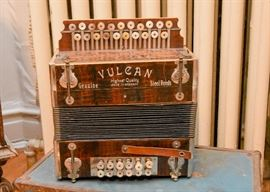 Vintage Vulcan Accordion (Made in Germany)