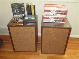 Vintage speakers from EJ Korvettes