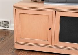 """BUY IT NOW! Lot #102, Beautiful TV / Entertainment Stand, $300 (Approx. 68.5"""" L x 25.25"""" W x 25.5"""" H)"""