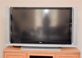 """BUY IT NOW! Lot #103, Large Sony Wega Hi Def TV, $250, (Approx. 59"""")"""