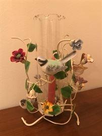 Italian and porcelain candelabra