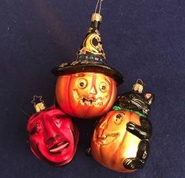 Radko Halloween ornaments