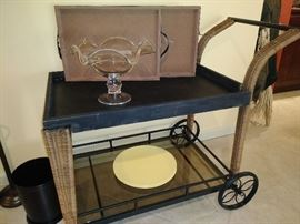 cute tea/bar cart