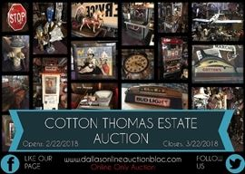 Cotton Thomas Post Card