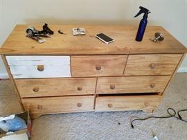Pine Dresser - Distressed - LOL