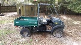 Kawasaki Mule, low hours but has been sitting for a long time