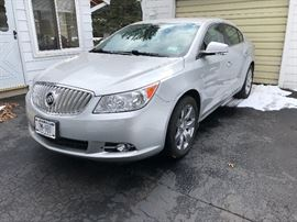 2011 Buick LaCrosse 4DSD                                                           Mileage 40,905                                                                                           Asking price $9950                                                                            Car may be pre-sold for asking price - call Diane to see (585) 313-7188