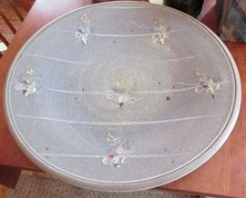 Large Art Pottery Platter