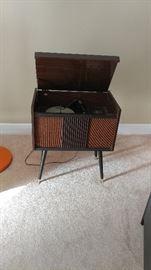 Vintage mid-century turntable