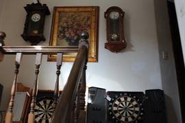 dart boards antique clocks