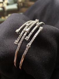 18k White Gold & Diamonds bracelet