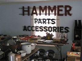 Tons of Rambler memorabilia!