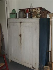 the Painted Southern Jelly Cupboard