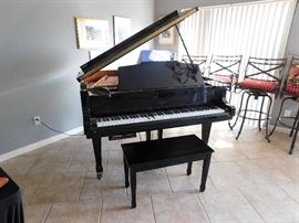 Weber WG50 Baby Grand Digital Player piano (classic and disk play)
