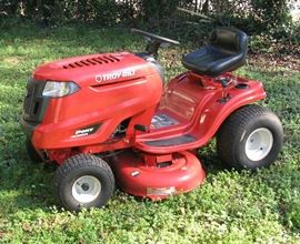 Newer Troy-Blit riding lawn mower--Pony Model