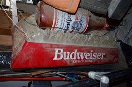 great Old Budweiser advertising sign works great