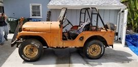 1969 Kaiser jeep, as is where is